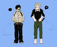 clothes swap with Nic and Worick