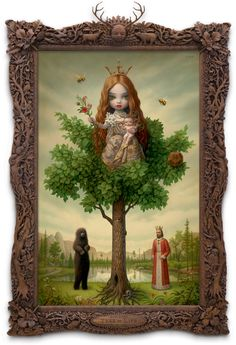 Mark Ryden - Google Image Result for http://www.markryden.com/images/painting/treeshow/paintings/large/63treeoflife.jpg