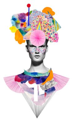 Niky Roehreke Fashion Mixed Media Illustrations | Trendland: Fashion Blog & Trend Magazine