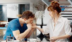"""Breakfast with Christian Grey …"" OMG!! I'm in love  Words cannot express…"
