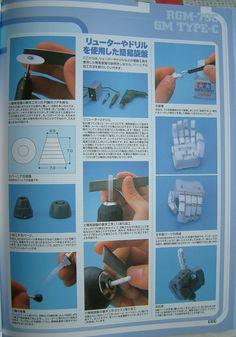 Gundam Scratch Build Manual 49