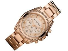 Michael Kors Watches Ladies Rose Gold Blair Watch