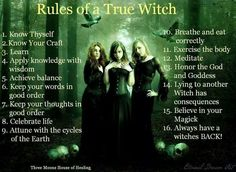 Rules of a True Witch