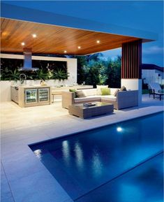 18 Pool House Floor Ideas Pool House Floor Ideas - indoor pool ideas Pool decor Swimming Pool Design Tags Best Pool House Plans Ideas Small Guest Houses Floor Home 22 Poolhouse. Backyard Pool Landscaping, Backyard Pool Designs, Swimming Pool Designs, Backyard Bbq, Patio Grill, Indoor Pools, Outdoor Swimming Pool, Outdoor Rooms, Outdoor Living