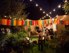 Beth Helmstetter's House Warming Party on the Inspired by This lifestyle blog today! A Mexican themed party with a tequila bar, taco cart, and cigar favors!