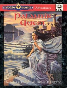 Product Line: Middle Earth Roleplaying  Product Edition: M2  Product Name: Palantir Quest  Product Type: Sourcebook / Other 2nd Ed  Author: Phil Kime, Chris Kennedy  Stock #: 2009  ISBN: 1-55806-207-6  Publisher: ICE  Cover Price: $15.00  Page Count: 160  Format: Softcover  Release Date: 1994  Language: English