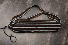 yoga mat bag INDIA STRIPES PILATES eco-friendly fabric by lapayoga