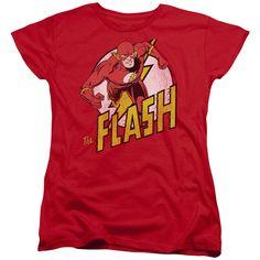 DC Comics Flash Women's Tee - Red