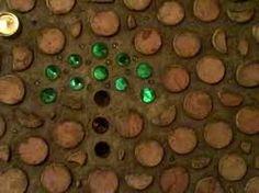 Image result for bottles in cordwood