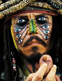 Johnny Depp, Piratas del Caribe