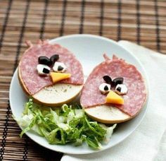 Angry Birds Deli Platter