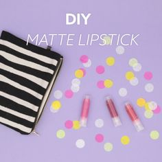 This DIY beauty video tutorial will teach you how to make matte lipstick. This DIY beauty video tutorial will teach you how to make matte lipstick. 17 Beauty Trends That AreSimple Tutorial & VideEasy & Free DIY Magnolia Diy Tumblr, Diy Matte Lipstick, Crayon Lipstick, How To Make Lipstick, Red Lipsticks, Maquillage Black, Do It Yourself Videos, Crochet Sheep, Diy Beauté