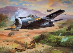 Grumman F6F Hellcat By Roy Cross