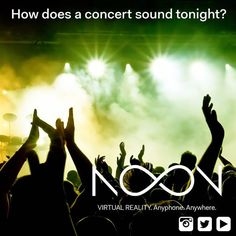 An awesome Virtual Reality pic! With streaming & sharing capabilities #NOONVR aims to redefine the way we experience everything. // COMMENT with any concert you'd want to see in #imax of #imax3d // #android #iphone #techie #technology #cool #virtualreality #virtual #amazing #crazy #creative #oculus #vr #concert #drake #coachella #outsidelands #hardsummer #tomorrowland by getnoonvr check us out: http://bit.ly/1KyLetq