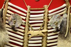 Breastplate by Don Standing Bear (Sou' West Nova Métis) at the Autry's American Indian Arts Marketplace