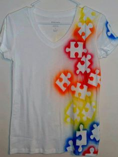T-shirt painting