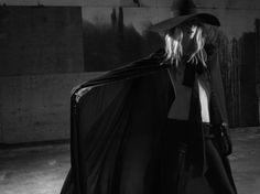 Julia Nobis photographed by Hedi Slimane.  Photos courtesy of Saint Laurent