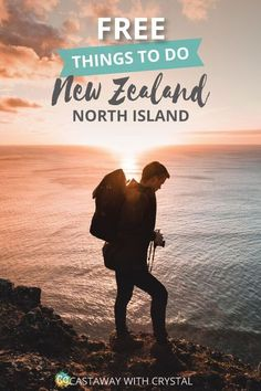 23 Totally Free Things to do in New Zealand, North Island (with Map) : FREE and AWESOME things to do on the North Island of New Zealand New Zealand Itinerary, New Zealand Travel Guide, New Zealand Attractions, New Zealand Cruises, Travel Destinations, Travel Tips, Budget Travel, Travel Hacks, Travel Ideas