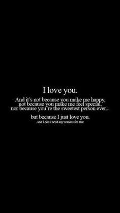 I say i feel