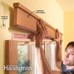 How to Install Craftsman Window Trim and Craftsman Door Casing How to: craftsman style windows, crown moulding, and baseboards! Painted white these would be fabulous. Window Casing, Door Casing, Window Trims, Craftsman Window Trim, Craftsman Interior, Craftsman Style Decor, Craftsman Style Interiors, Craftsman Style Furniture, Trim Carpentry