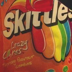 Skittles cores