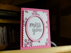 Miss you card~!