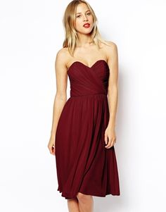 The perfect color for fall bridesmaids