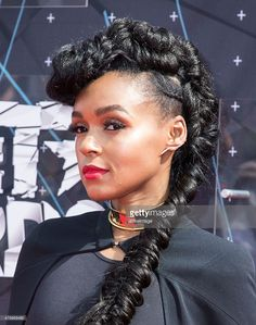 Singer Janelle Monae attends the 2015 BET Awards on June 28, 2015 in Los Angeles, California.  (Photo by Vincent Sandoval/WireImage)