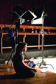 """Edgar Wright on the set of """"Scott Pilgrim VS. the World"""""""
