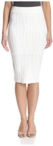 Stella & Jamie Women's Ursula Pencil Skirt, White, M   #FreedomOfArt  Join us, SUBMIT your Arts and start your Arts Store   https://playthemove.com/SignUp