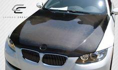 2007-2010 BMW 3 Series E92 E93 Convertible 2DR Carbon Creations OEM Hood - 1 Piece