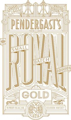 Pendergast's Royal Gold, Small Batch Bourbon