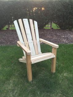 Child Adirondack Chair: Cedar Or Treated