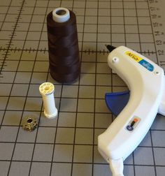 How to refill a regular spool of thread using a serger cone. Great tip!
