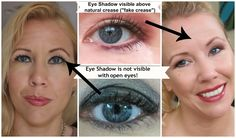 8 Tips on how to apply eye shadow on hodded eyes! Game changing make up tips for hooded eyelids!