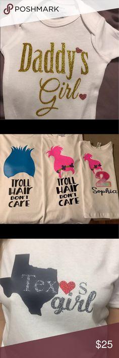 Custom made shirts ! Any size any design Custom made shirts (Any size any design) Tops