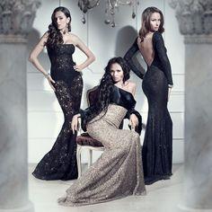 Alexandra Serova dresses