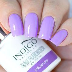 Influencer by indigonails from the new Nailfluencer collection nails gelpolish Indigo Nails, My Beautiful Friend, Makeup Cosmetics, Pretty Nails, Pedicure, Nail Colors, Swatch, Beauty Makeup, Nail Polish