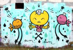 Pum Pum is one the best known artists participating in the street art scene of Buenos Aires