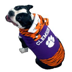 Clemson Tigers Dog Mascot Costume #clemson