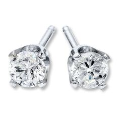 Diamond earrings studs. I want one for my cartilage.