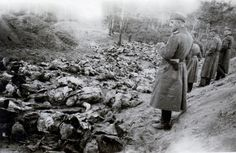The Katyn massacre, was prompted by Lavrentiy Beria's proposal to execute all members of the Polish Officer Corps, dated 5 March 1940. This official document was approved and signed by the Soviet Politburo, including its leader, Joseph Stalin. The number of victims is estimated at about 22,000, with 21,768 being a lower limit.