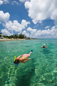 Spend an afternoon snorkeling in the crystal blue waters of the Caribbean.