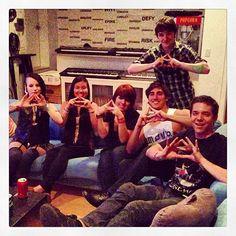 Christine, Kysa, Tess, Matt, Enrique, + Ian - #TheSleepover 2013!!!  http://instagram.com/p/ZmwBTzAPmp/#