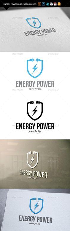 Energy power - Logo Design Template Vector #logotype Download it here: http://graphicriver.net/item/energy-power/9940626?s_rank=1453?ref=nexion