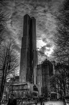 Sauron over NYC