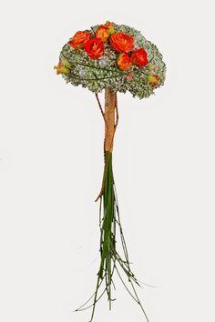 ...y una flor: Un alegre ramo de novia de paniculata
