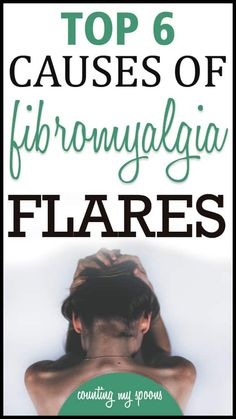 What causes fibromyalgia flares? My top 6 causes - My top 6 causes for fibromyalgia flares. What Causes Fibromyalgia, Fibromyalgia Flare, Fibromyalgia Syndrome, Fibromyalgia Treatment, Chronic Fatigue Syndrome, Natural Cures For Fibromyalgia, Fibromyalgia Pain Relief, Chronic Illness, Chronic Pain
