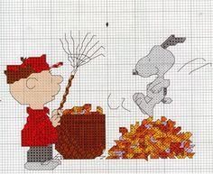 A Vida é Bela: Peanuts - Ponto de Cruz