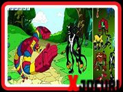 Ben 10 Omniverse, Online Games, 2d, Scene, Outdoor Decor, Stage